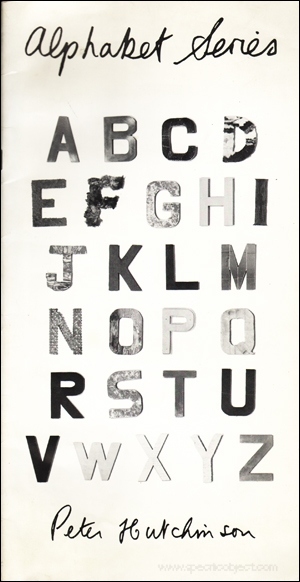 Peter Hutchinson - Alphabet Series