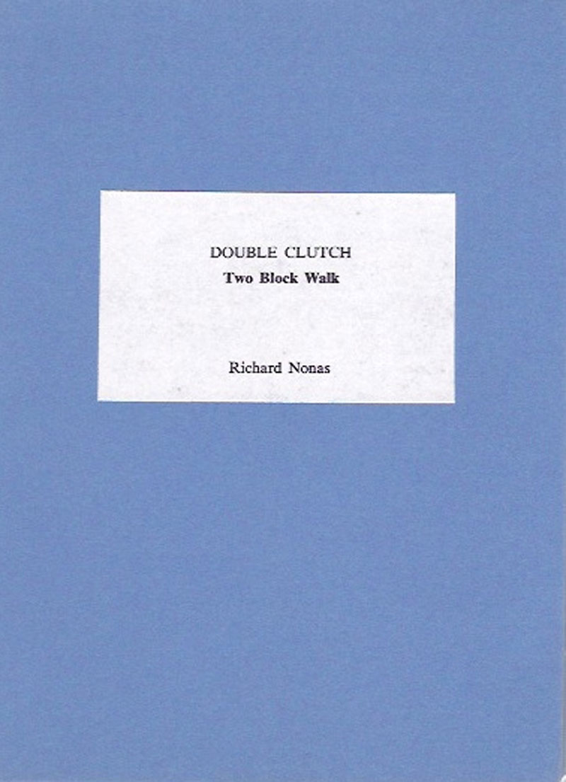 Richard Nonas - DOUBLE CLUTCH - Two Block Walk