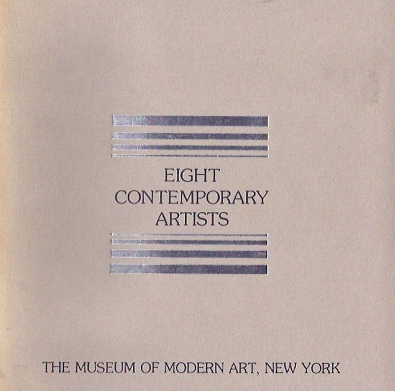 Vito Acconci, Alighiero Boetti, Daniel Buren, Hanne Darboven, Jan Dibbets, Robert Hunter, Brice Marden, Dorothea Rockburne - Eight Contemporary Artists