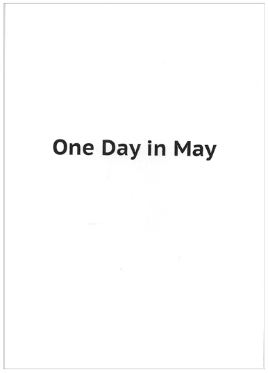 Joachim Schmid - One Day in May